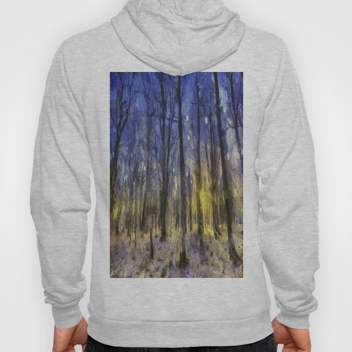 The Forest Van Gogh Hoody