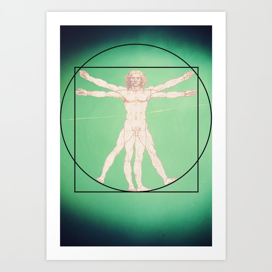 Vitruve Art Print