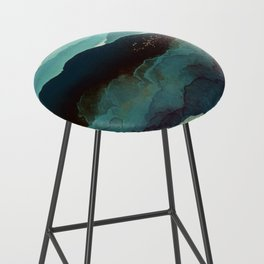 Indigo Mountains Bar Stool
