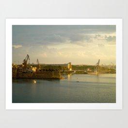 The Three Cities Art Print