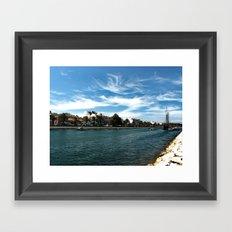 lagos Framed Art Print