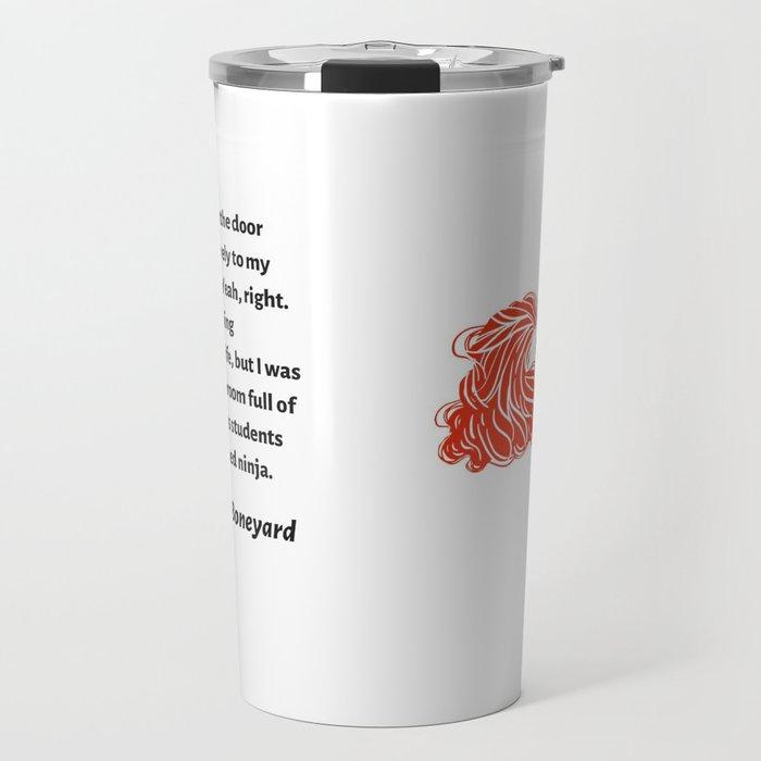 Sydney Brennan PJ Ninja Travel Mug