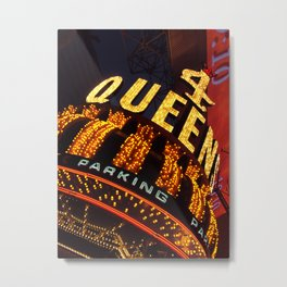 4 Queens Casino, Las Vegas Metal Print