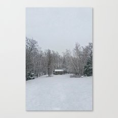 Cantonia in White Canvas Print