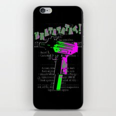 BRATATATAT! iPhone & iPod Skin