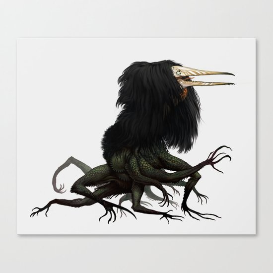 Twitchy Vukka Canvas Print