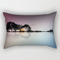 Guitar Island Rectangular Pillow