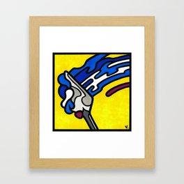 MiniPop17|Smear Framed Art Print