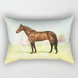 thoroughbred Rectangular Pillow