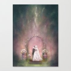 A Happy Beginning Canvas Print