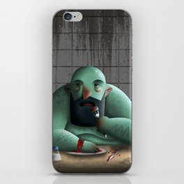 Table for four iPhone Skin