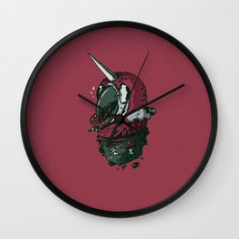 Uniparrot Wall Clock