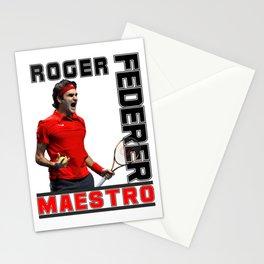 Roger Federer Maestro Stationery Cards