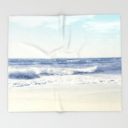 North Shore Beach Throw Blanket