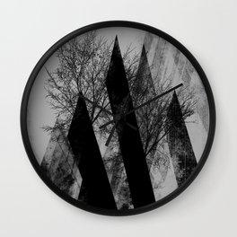 TREES V2 Wall Clock