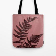 Fern on marsala Tote Bag
