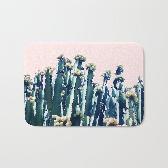 Cactus V5 #society6 #decor #buyart Bath Mat