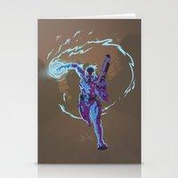 n7 Stationery Cards featuring Mass Effect 3- Vanguard Propaganda by Joe Byrne