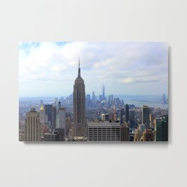 Empire View Metal Print