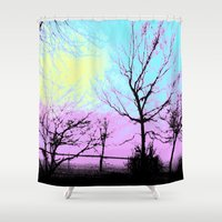 fog Shower Curtains featuring Fog by DesignsByMarly