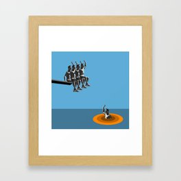 Gunther Framed Art Print