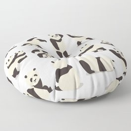 Pandas Party Floor Pillow