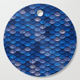 Blue Penny Scales Cutting Board