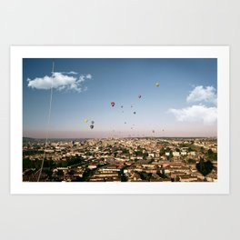 Balloons Over Bristol Art Print