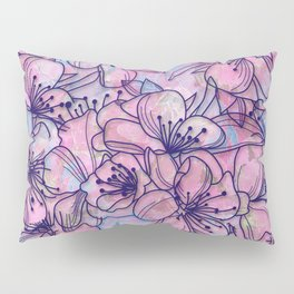 Over and Over Flowers 2 Pillow Sham
