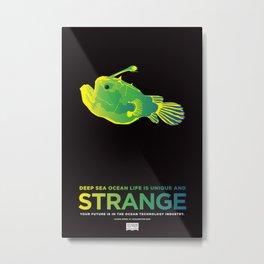 STRANGE Metal Print