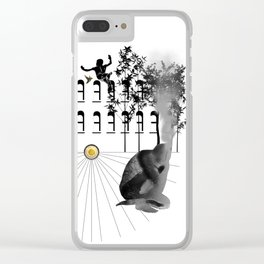 The Mind Burning Clear iPhone Case