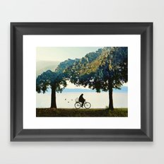 Into the Nature Framed Art Print