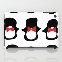 penguins iPad Cases featuring Penguins by Flash Goat Industries