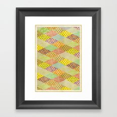 SPONGE CAKE / PATTERN SERIES 001 Framed Art Print