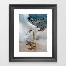 Fantasy Seagull Framed Art Print