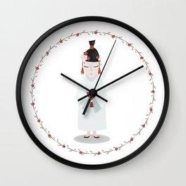 Cinese girl Wall Clock