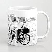 copenhagen Mugs featuring Copenhagen by sarknoem