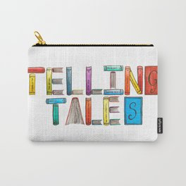 Telling Tales Carry-All Pouch