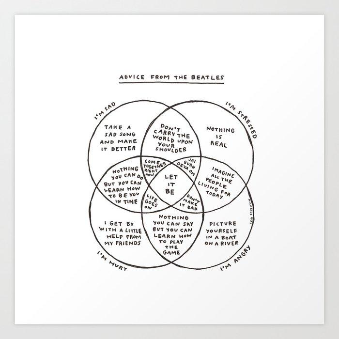 Advice Art Print