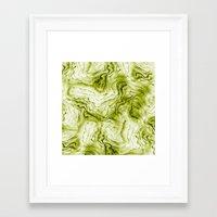 geode Framed Art Prints featuring geode by maika