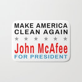 McAfee - Make America Clean Again Bath Mat