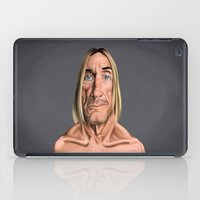 iggy iPad Cases featuring Celebrity Sunday ~ Iggy Pop by rob art | illustration