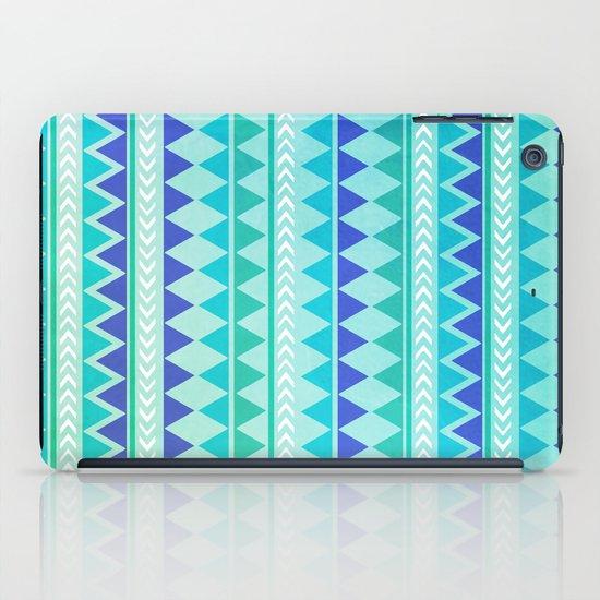 Winter Aztec Pattern iPad Case