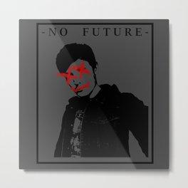 No Future. V1 Metal Print