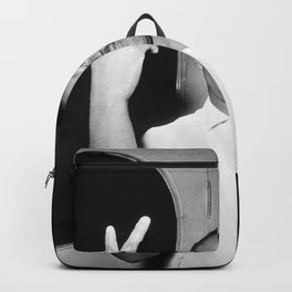 Martin Luther King Peace Symbol Backpack
