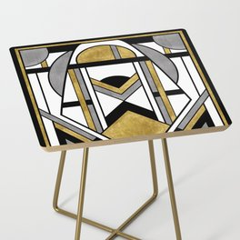 Up and Away - Art Deco Spaceman Side Table