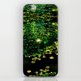 the Water Lilly iPhone Skin