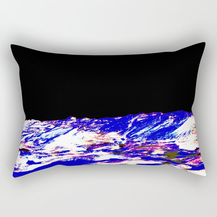 Blue Moon Rectangular Pillow