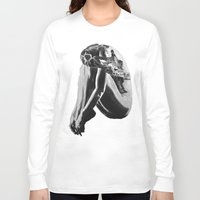 shameless Long Sleeve T-shirts featuring Shameless by Asia Fuse Dirty Tease