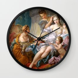 The Toilet of Venus - Francois Boucher Wall Clock